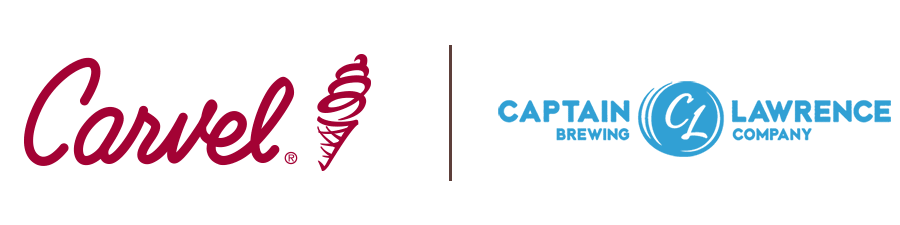 carvel and captain lawrwence brewing co logo